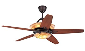 monte carlo 5ahr60rbd arch 60inch 5blade ceiling fan roman bronze motor - Monte Carlo Ceiling Fans