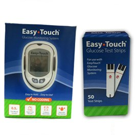 Easy Touch Glucose Monitor Kit Combo
