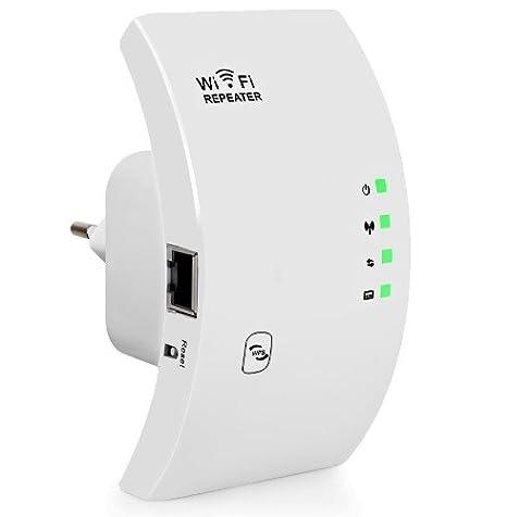Repetidor Red Wi-Fi 600Mb Rango Extensor Inalámbrico Amplificador Señal Mejora: Amazon.es: Electrónica