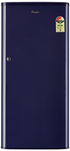 Whirlpool 190 L 3 Star Direct Cool Single Door Refrigerator(WDE 205 CLS 3S BLUE-E, Blue)