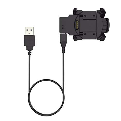 Homyl 1 Pieza Cable de Cargador para Datos Compatible con Garmin Fenix 3, Fenix 3 HR, Fenix 3 Sapphire