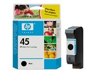 HP 45 - Print cartridge - 1 x black - 830 pages