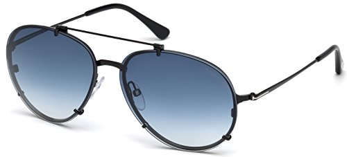 Tom Ford Sonnenbrille Dickon (FT0527) schwarz glanz