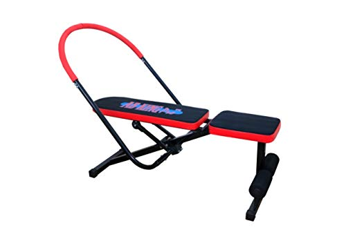 Pimp AB King Pro Rocket Twister Zone Flex Cruncher 6 Pack Tummy Trimmer Sauna Fitness Pump Home Workout Total Core Body Slider Advance Exerciser