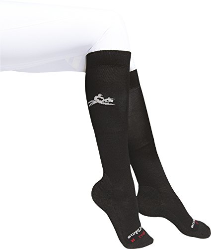 Equi-thème calcetines Equitation Micro negro