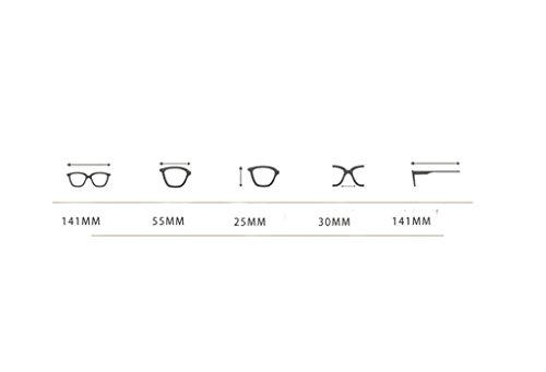 Protection Trend Flat Lym couleur amp;lunettes B Mirror Soleil Lunettes amp; De Myopia E 8r8wTq0tx