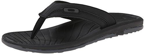 Oakley Men's Dune Sandal, Jet Black, 14 M - Flip Men Flops Oakley For