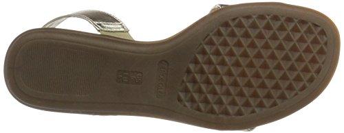 Aerosoles Women's Chairman Mars Open-Toe Sandals Gold (Gold) DTfbsJW
