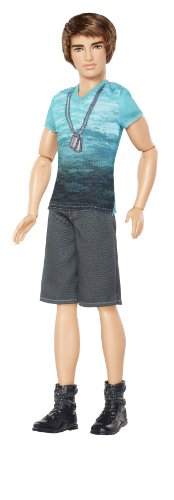Barbie Fashionista Ken Doll with Blue T-Shirt and Navy Shorts