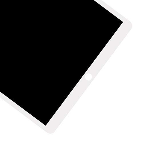 for iPad Pro 12.9 A1670 A1671 A1821 Screen Replacement LCD Display Touch Screen Digitizer + IC Connector PCB Flex Cable Assembly (2017) (White) by SRJTEK (Image #4)
