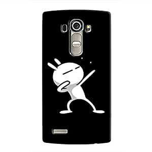 Cover It Up - Rabbit Lightning Pose LG G4 Hard case