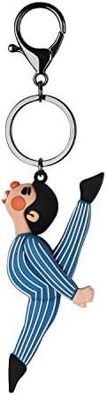 恋人 キーホルダー キーリング カップル お揃い 運動 かわいい 鞄 バックチャーム おしゃれ 財布飾り チェーン 小物 雑貨 贈り物 プレゼント 男女兼用 2カラー