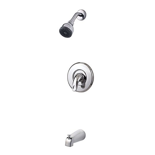Pfister G89-8SRC Serrano 1-Handle Tub & Shower Trim in Polished Chrome, 2.0gpm durable service