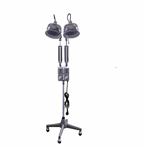 Superdental 230W*2 TDP Lamp Floor Standing Infrared Heat Adjustable Two Head CE Double System Lamp