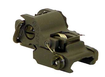 A.R.M.S #40 Stand Alone Flip Up Rear Sight
