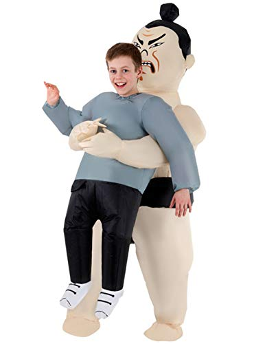 Morph MCKPISW Boys Pick Me Up Inflatable Sumo Kids Costume, One Size