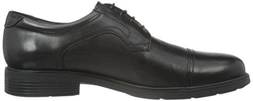 Hombre De Zapatos blackc9999 Derby Para Geox U Schwarz Cordones Dublin C gP8In