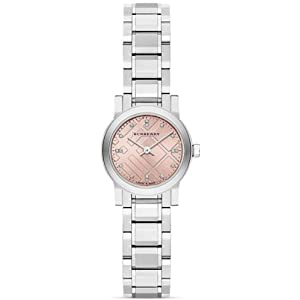 Burberry BU9223 – Wristwatch Women's, Stainless Steel Silver Strap
