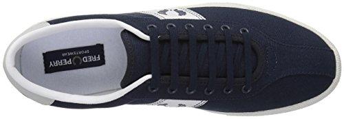 Sneakers Tennis 1 Canvas Bleu Marine pour homme -