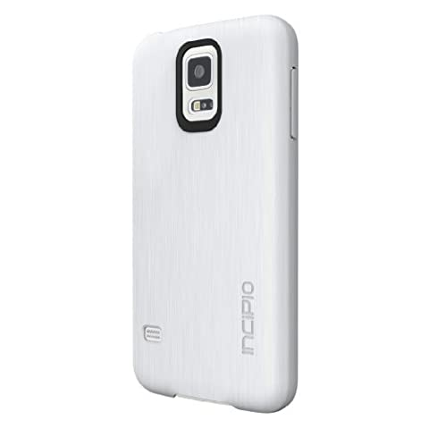 Incipio Feather Shine Case for Samsung Galaxy S5 - Retail Packaging - White (Incipio Phone Case For Galaxy S5)
