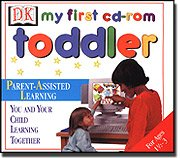 Brand New Dorling Kindersley Multimedia DK My First CD-ROM Toddler Instant Access To Parent Support