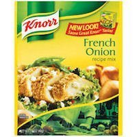 Onion Mix Knorr Soup - Soup Mix (French Onion) - 1.4oz [6 units] by Knorr.