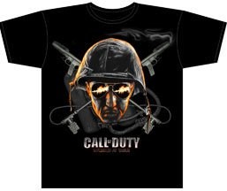 Call of Duty: Soldier With Glasses Sheer T Shirt, Adult X-Large