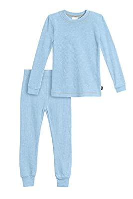 City Threads Boys' Thermal Underwear Long John Set - Made in USA