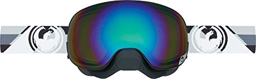 Dragon Alliance Shear Unisex X2 Snow Goggles Eyewear, Flash Green Performance Polarized, One Size ()