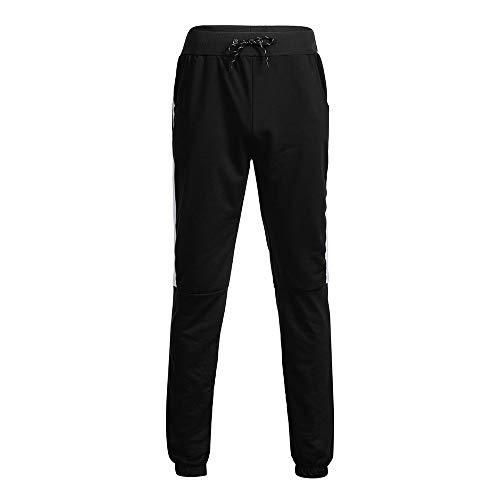 Casual Noir 3xl Slim Pantalons M Serrage Homme Cordon Sport Workout Survêtement De Jeans Jogging Gym Fitness Taille Mode T58axwq8