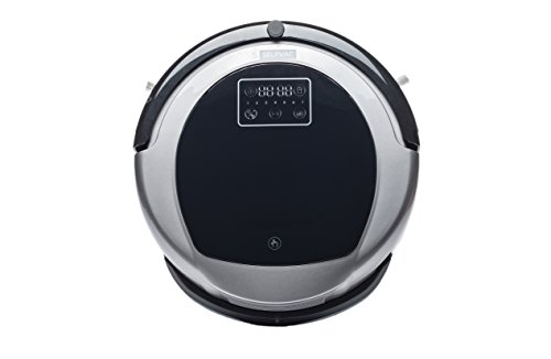 Selfvac Robot Vacuum Cleaner, WiFi Robotic Vacuum, iOS or Android App Control, Scheduled Cleaning, Wet Mop, 3000 Max Suction, Powerful Clean for Pets, Cleans Low-Pile Carpets and Hard Floors.