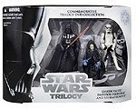 - Star Wars Commemorative Trilogy DVD Collection Action Figure Set: Return of the Jedi (Darth Vader, Emperor Palpatine, Stormtrooper)
