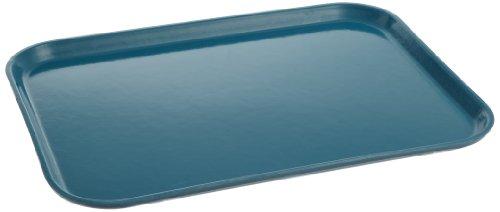 Carlisle 1612FG006 Fiberglass Glasteel Solid Rectangular Tray, 16.37
