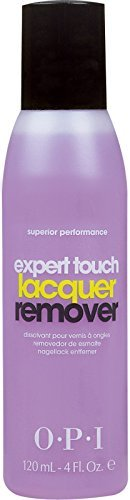 Expert Touch Nail Lacquer Remover 4 Fl oz - 1 Bottle.