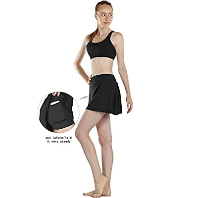 icyzone Athletic Skirts for Women - Workout Running Golf Tennis Skort with Pockets: Clothing