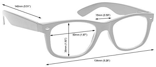 Braune Schildpatt Kurzsichtigkeit Entfernung Brille Herren Frauen UVMR014