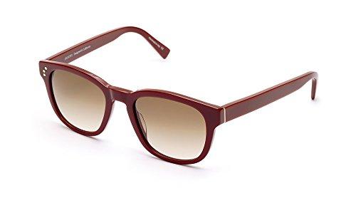 Burgundy Gradient Lens (SHAUNS California Lewis Retro Sunglasses Burgundy/Brown Gradient Lens 51-20)