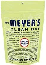 Limpieza de la señora Meyer día Auto lavar platos Packs (Pack de 6 ...