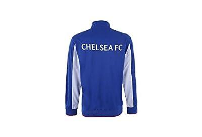 Chelsea FC Adult Blue Soccer Football Jacket Track Zip Up 2015-2016