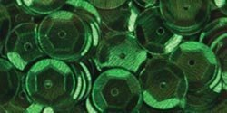 5mm CUP Sequins Kelly Green Loose Sequins for Embroidery, Applique, Arts, Crafts and Embellishment. 800 Loose Sequins