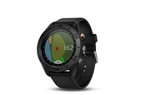(Garmin Approach S60, Premium GPS Golf Watch with Touchscreen Display and Full Color CourseView Mapping, Black w/Silicone Band)