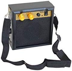 JEERUI Mini 4 Electric Guitar Amplifier 5 Watts at 4 Ohms Retro Guitar Speaker