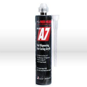 10OZ A7 Adhesive by ITW Ramset Red Head ()