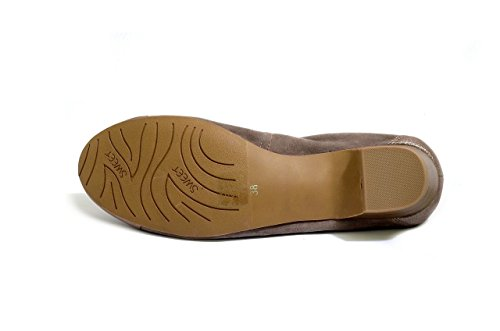 In Silver Shoes Karston Women's Pindiere And Taupe Deblox Ballerina Sweet Collection xUwqgapq6