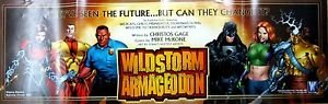 Wildstorm Armagedon Folded Promo Poster (11 X 34