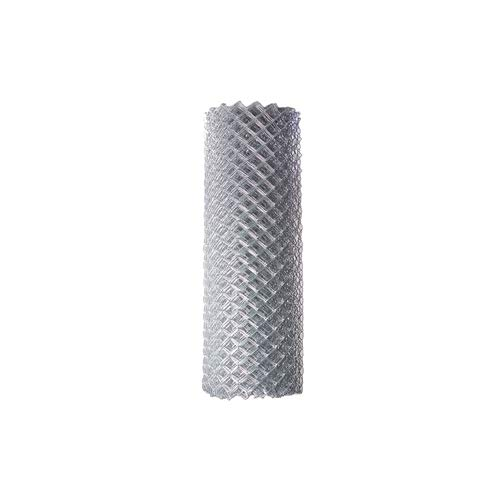 ALEKO CLF125G5X50 Chain Link Mesh Roll for DIY Fence System Galvanized Steel for Home Business Agriculture 5 x 50 Feet Silver