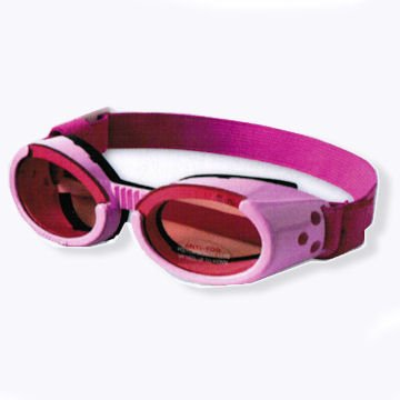 Doggles DGIL13 ILS Lense Dog Goggles in Shiny Red Size-See Chart Below: Small by Doggles