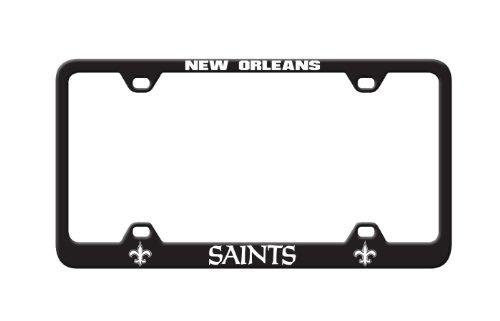 NFL New Orleans Saints Laser License Plate Frame