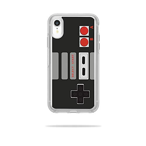 MightySkins Skin for OtterBox Symmetry iPhone XR Case - Retro Gamer 3 | Protective, Durable, and Unique Vinyl Decal wrap Cover | Easy to Apply, Remove, and Change Styles | Made in The USA