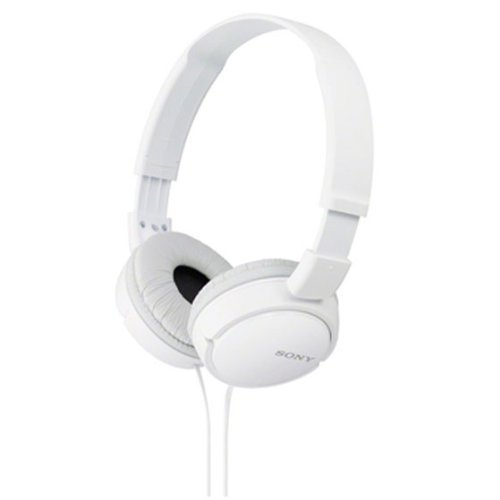 Sony MDR-ZX110A Stereo On-Ear Headphone(White)